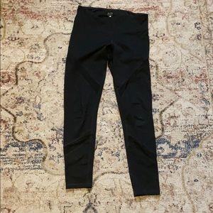 7/8 black workout leggings